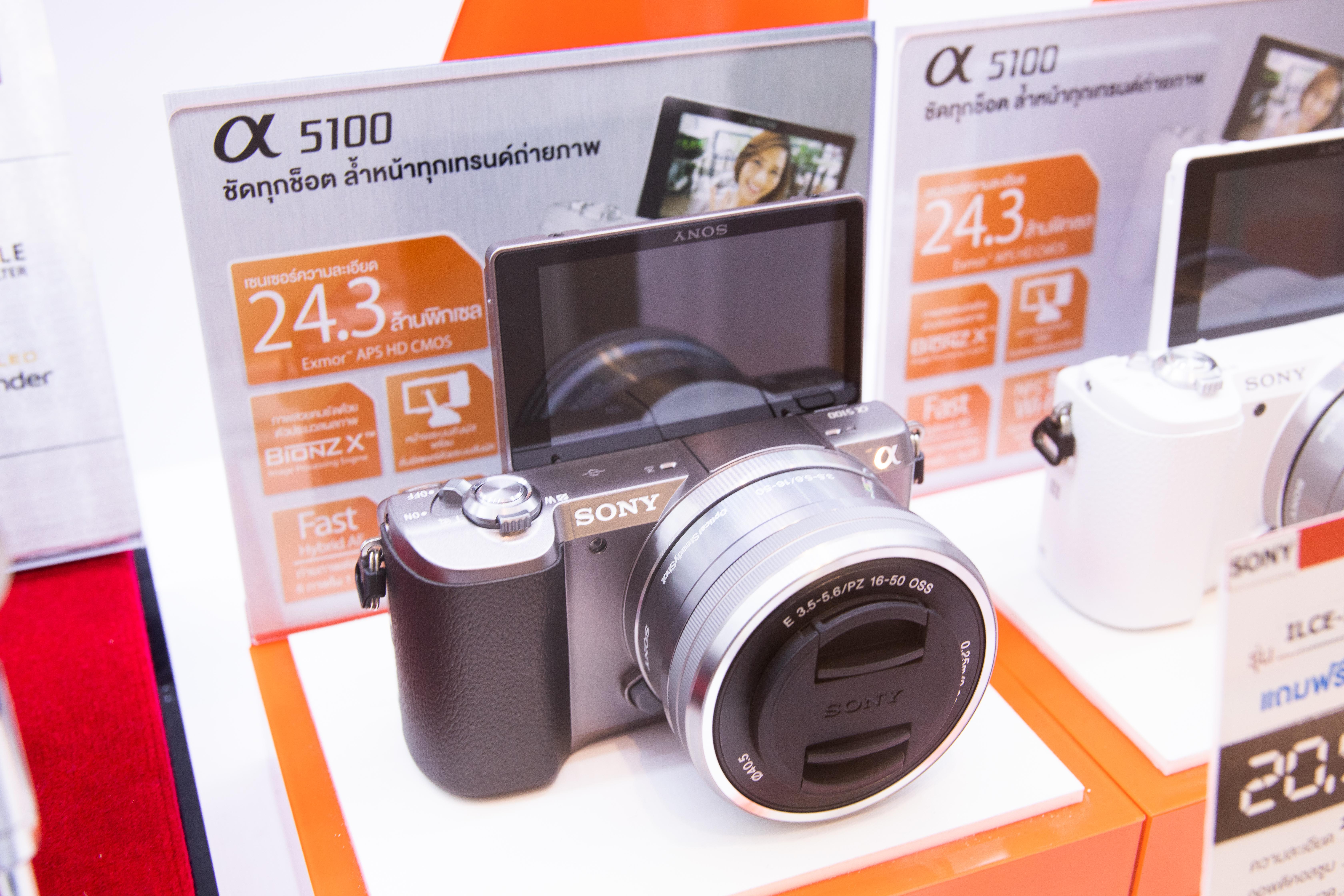 กล้อง Mirrorless Sony A5100