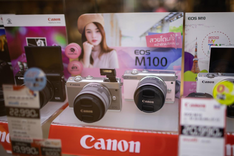 กล้อง Mirrorless Canon M100