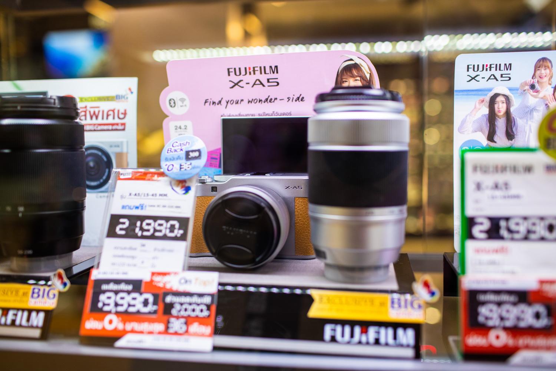 กล้อง Mirrorless Fujifilm X-A5