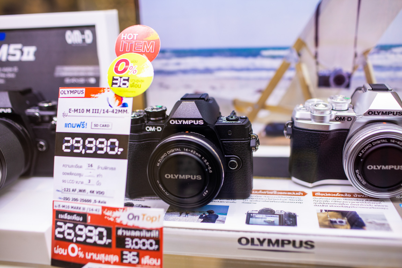 กล้อง Mirrorless Olympus OMD EM10 Mark 3